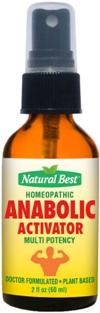Anabolic Activator - Anabolizantes Naturais Spray Oral 60ml