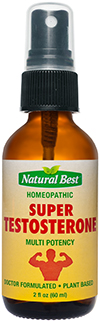 Super Testosterona - Naturais Spray Oral 60ml
