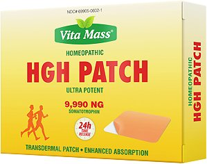 HGH Seal Ultra Potent Patches 9.990 ng