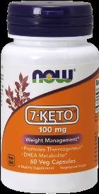 7-KETO- DHEA 100 mg - 60 Kapsler
