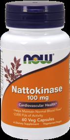 Nattokinase - Nattokinase 100 mg - 60 Vcaps