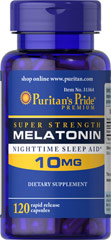 Melatonin 10mg - 120 Kapsler
