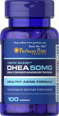 DHEA 50 mg - 100 Tablets