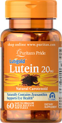 Luteïne 20 mg - Zeaxanthine - 60 Softgels
