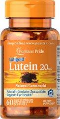 Lutein - Luteïne 20 mg 60 Softgels