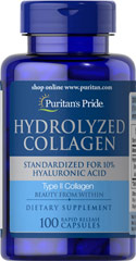 Collagen - Kollagen 400 mg 100 Kapslar