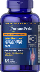 Glucosamina Condroitina MSM 120 Comprimidos