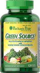Green Source - Fonte Verde Multivitaminico 120 Compresses