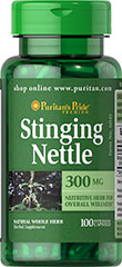 Stinging Nettle - Ortica 300 mg 100 Capsules