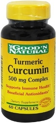 Kurkuma Curcumine - 500 mg - 60 Capsules