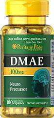 DMAE 100 mg 100 Cápsulas
