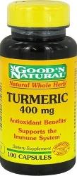 Turmeric - Curcuma 400 mg 100 Capsules