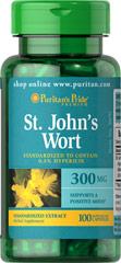 St. John's Wort - Erva de São João 300 mg 100 Cápsulas