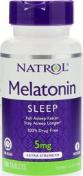 Melatonin TR 5mg Time Release 100 Tabletki