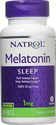 Melatonina Natrol 1 mg 180 Tabs