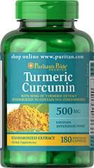 Kurkuma Curcumine - 500 mg - 90 Capsules