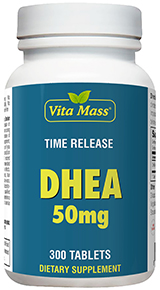 DHEA 50 mg - Time Release - 300 Tabletter