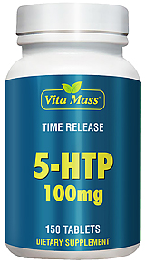 5-HTP 100 mg TR Time Release - 150 Tabletter