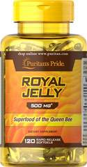 Royal Jelly - Gelée Royale 500 mg 120 Capsules Molles