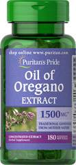 Oregano Oil - Oregano Oil 1500 mg 180 kaps.