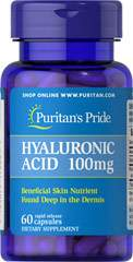 Hyaluronic Acid - Acide Hyaluronique 100 mg 60 Capsules