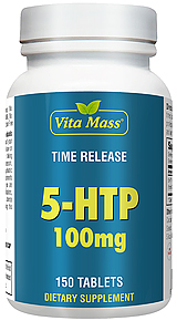 5-HTP 100 mg Time Release TR - 150 Tablets