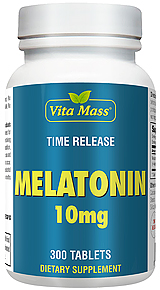 Melatonin 10mg - TR Time Release - 300 Tablets