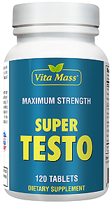 Super Testo - La Force Maximale - 120 Comprimés