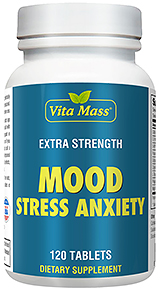 Mood Stress Anxiety - Stemming Stress Angst - 120 Tabletten