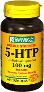 5-HTP 100 mg 120 kapselia Good & Natural