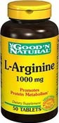 L-Arginin 1000 mg 50 Tabletter