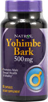 Yohimbe Bark 500mg 90 Kapsler