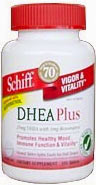 DHEA Plus Resveratrol - 25 mg - 350 Tabletter