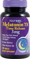 Mélatonine 3 mg TR Time Release - 100 Comprimés